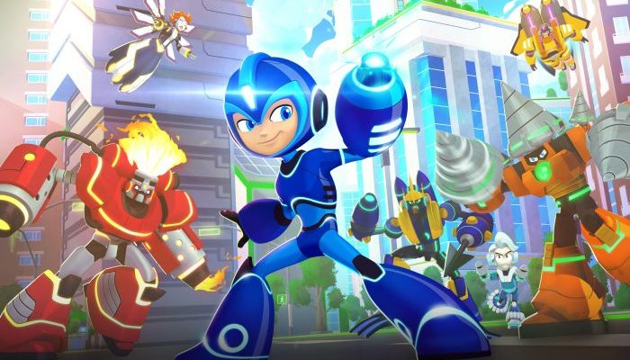 Mega Man: Fully Charged on Cartoon Network