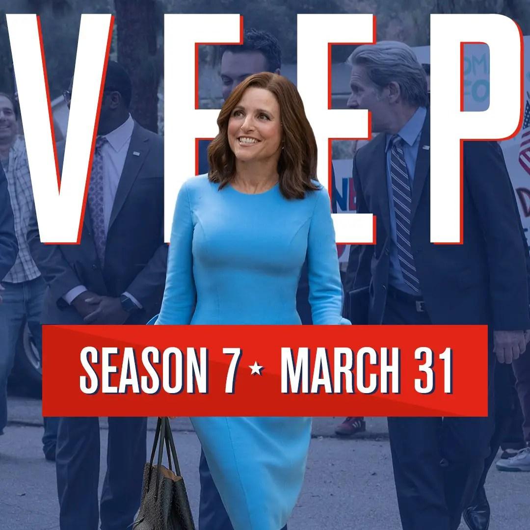 HBO Announces 'VEEP' Season 7 (Final Season) Premiere Date