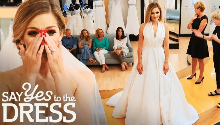 TLC's new show say yes to the dress america