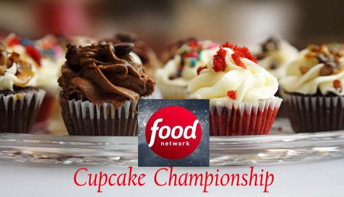 Food Network Announces New Series Cupcake Championship Premiere