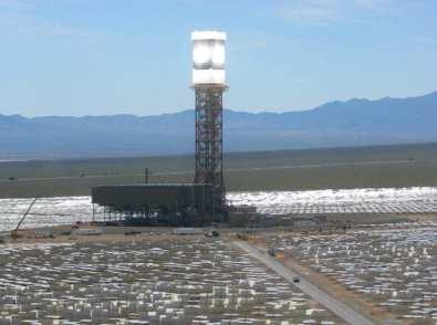 Renewable Energy in action. Ivanpah solar power tower (CSP) now online.