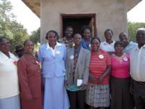 Petronells Guvamombe & Tracey Kache arrive at boarding school.jpg