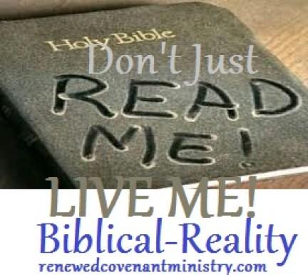 do and live me bible