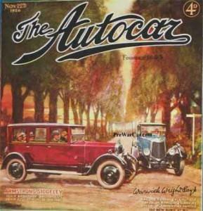 1926 Armstrong Siddeley