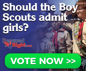 QUICK POLL: Should the Boy Scouts admit girls?