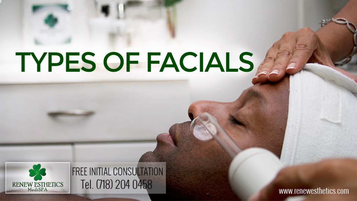 types of facials