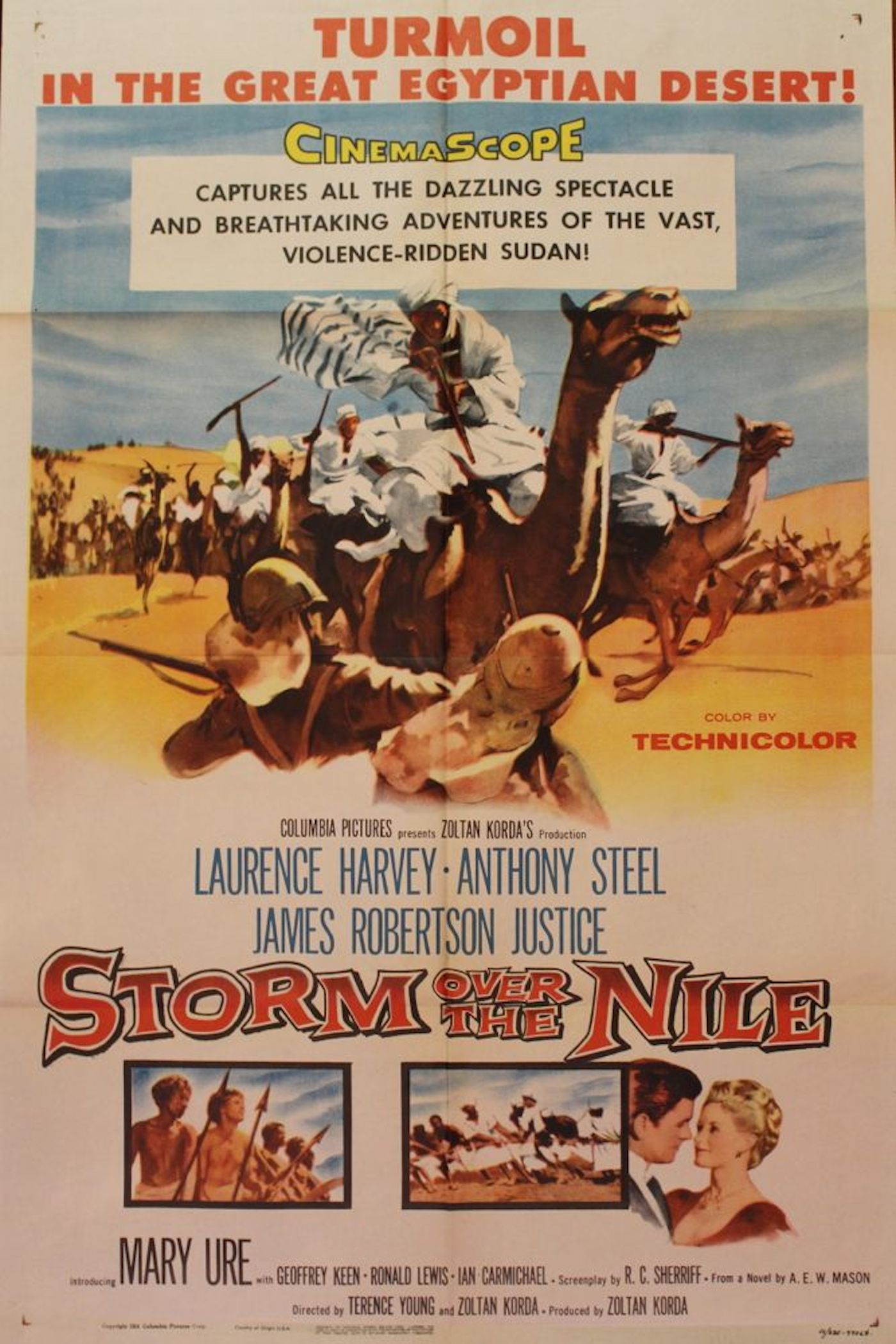 Image result for Storm Of The Nile. movie poster