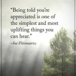 appreciate, uplifting