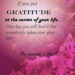 gratitude, life
