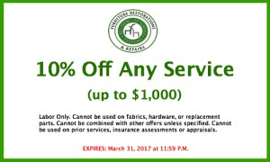 10% Off any Service at Re-New It Services