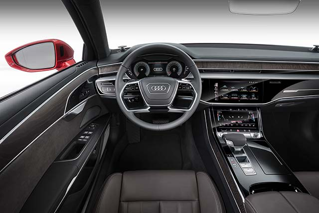 New 2018 Audi A8 Hybrid Comes with Innovative Wireless Charging