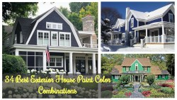 34 Best Exterior House Paint Color Combinations