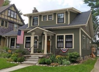 Best Exterior House Paint Color Combinations 12