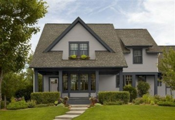 Best Exterior House Paint Color Combinations 23