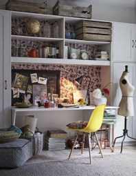 Bohemian Home Office Decor To Inspiration 01