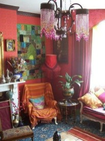 Bohemian Home Office Decor To Inspiration 08