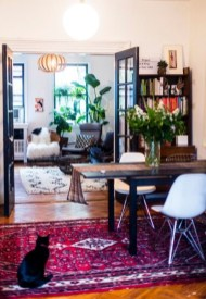 Bohemian Home Office Decor To Inspiration 09