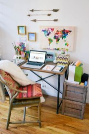 Bohemian Home Office Decor To Inspiration 11