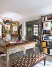 Bohemian Home Office Decor To Inspiration 19