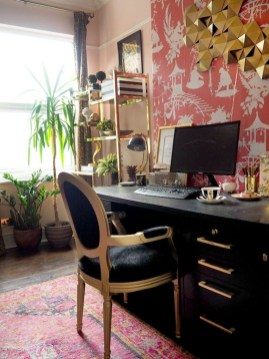 Bohemian Home Office Decor To Inspiration 26