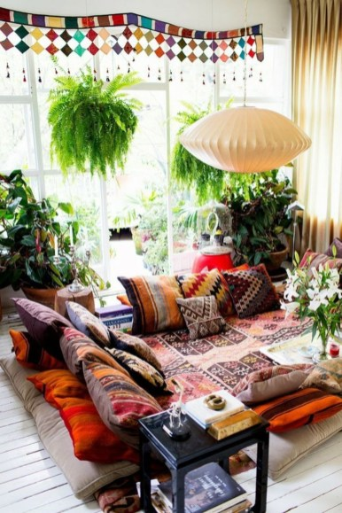 Bohemian Style Home Decor Ideas 01