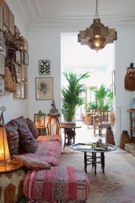 Bohemian Style Home Decor Ideas 10