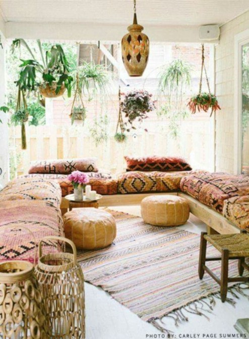 Bohemian Style Home Decor Ideas 18