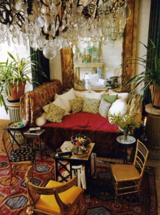 Bohemian Style Home Decor Ideas 25