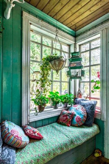 Bohemian Style Home Decor Ideas 29