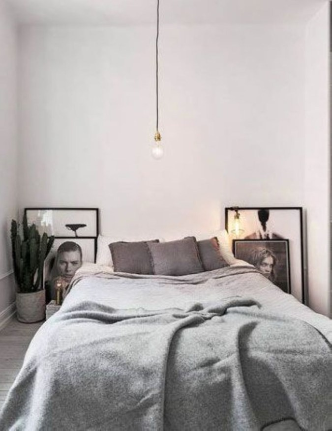 Cozy Bedroom Ideas For Your Tiny Apartment 06