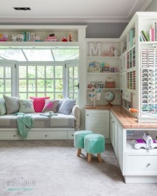 Craft Room Storage Projects For Your Home Office 23