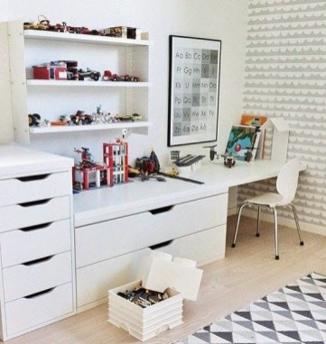Craft Room Storage Projects For Your Home Office 28