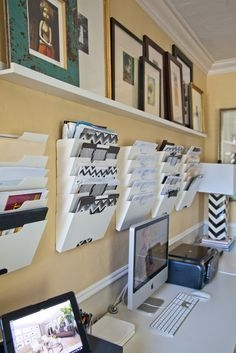 Craft Room Storage Projects For Your Home Office 33