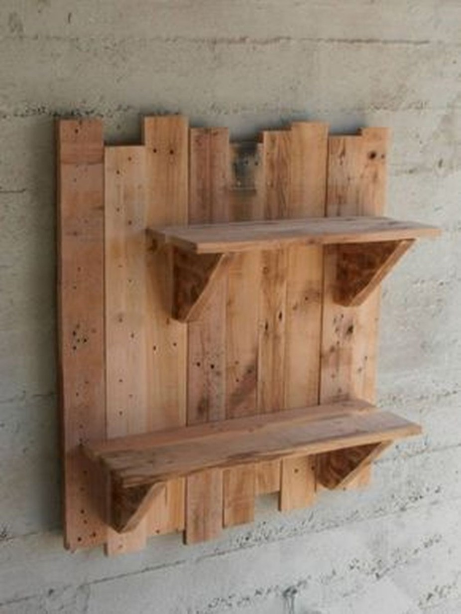 DIY Rustic Wood Furniture Ideas 20