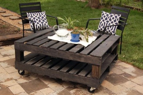 Easy DIY Ideas For Old Pallet Wood 34