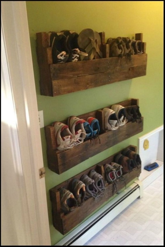 Easy DIY Ideas For Old Pallet Wood 44