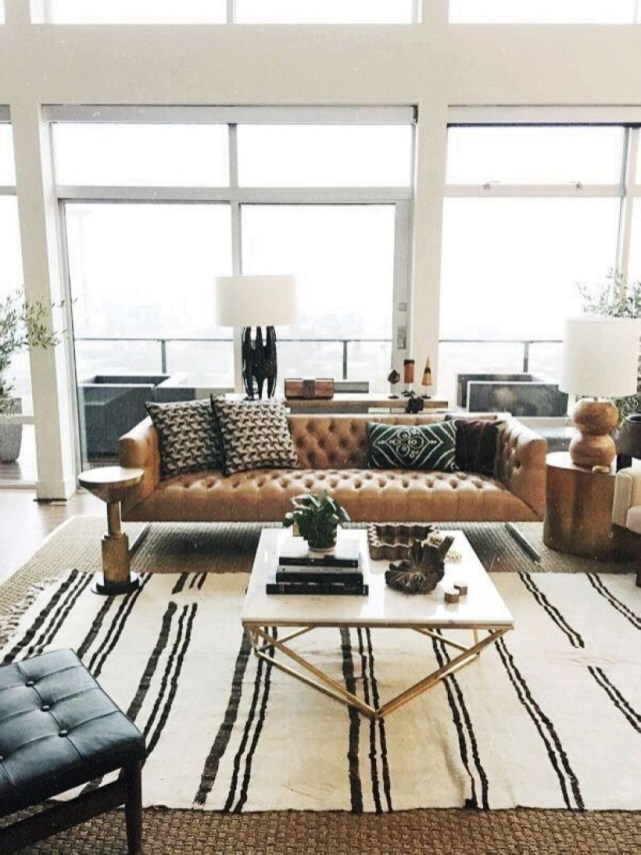 Neat And Cozy Living Room Ideas For Small Apartment 25