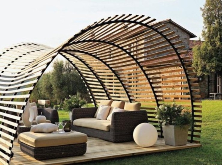 Pergola Ideas To Keep Cool This Summer 01