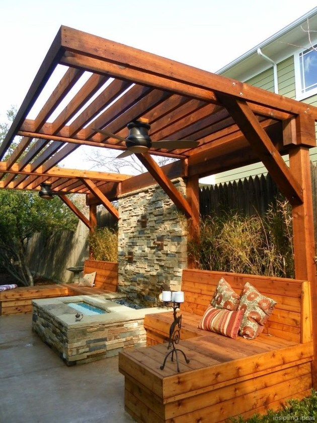 Pergola Ideas To Keep Cool This Summer 23