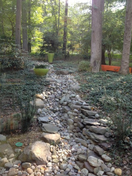 River Rock Landscape And Lavender Bush For Your Outdoor 20