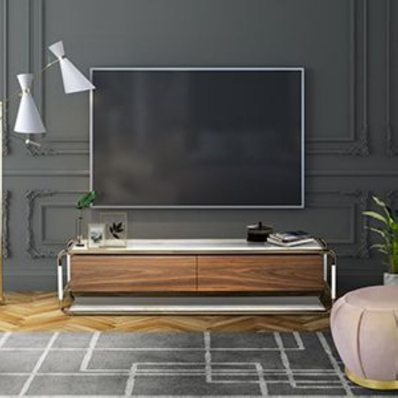 The Best Tv Table To Enhance Your Home Decor 33