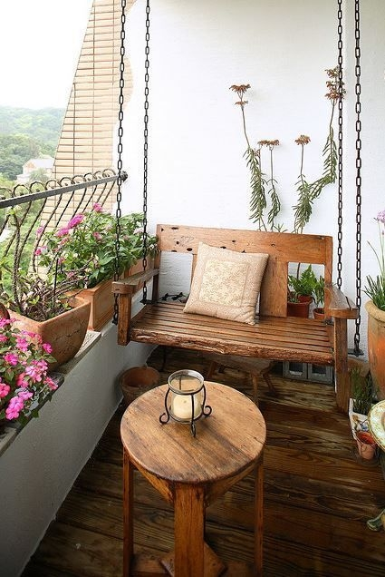 Unique Space Saving Accessories For Your Balcony33