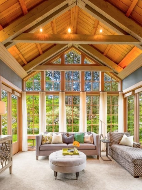 Ways To Create A Relaxing Porch For Big Family 30