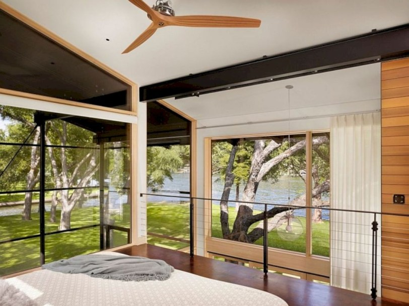 Modern Airy Home Design With Amazing Lake Views 11
