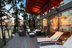Modern Airy Home Design With Amazing Lake Views 17