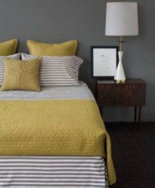 Yellow Bedroom For Your Child's Room Idea To Sleep Feels Warm 09