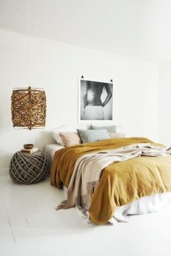 Yellow Bedroom For Your Child's Room Idea To Sleep Feels Warm 15