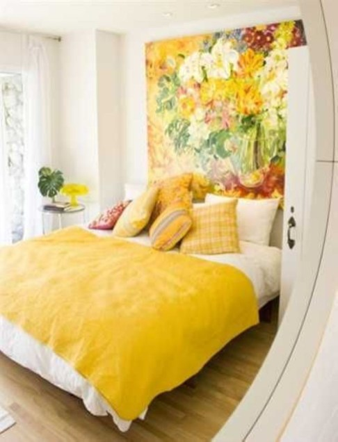 Yellow Bedroom For Your Child's Room Idea To Sleep Feels Warm 20