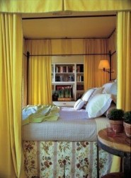 Yellow Bedroom For Your Child's Room Idea To Sleep Feels Warm 22