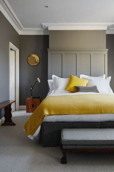Yellow Bedroom For Your Child's Room Idea To Sleep Feels Warm 25